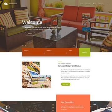 Hotel Booking Website - Bayleaf Suites